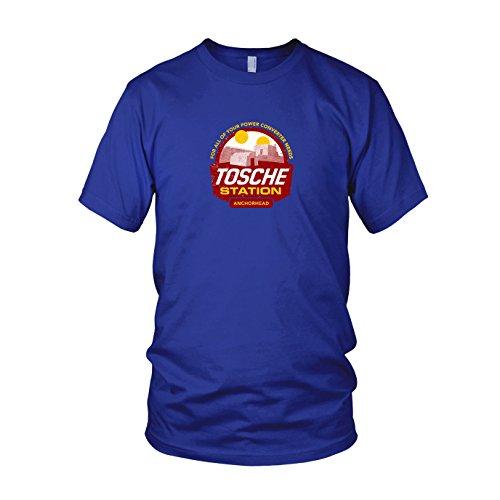Tosche Station - Herren T-Shirt, Größe: M, Farbe: blau