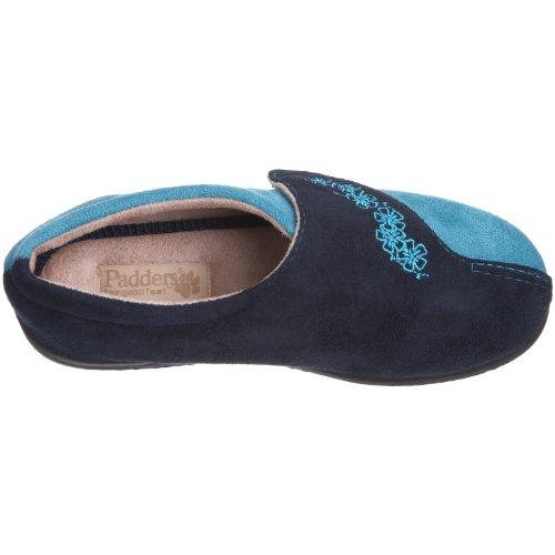 Padders Hug, Damen Schlupfschuhe Blau (Marineblau/Teal)