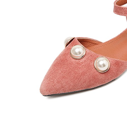 A & Ndiug00074 - Femme Rose Fermé Chaussures