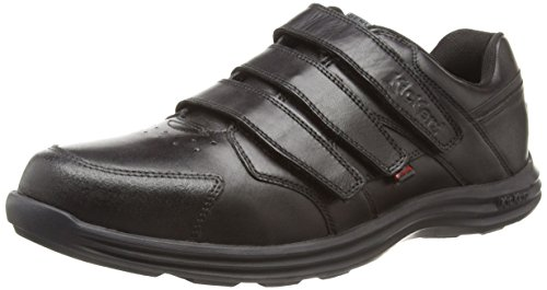 Kickers Men's Seasan Strap Loafers, Black (Black), 10 UK 44 EU