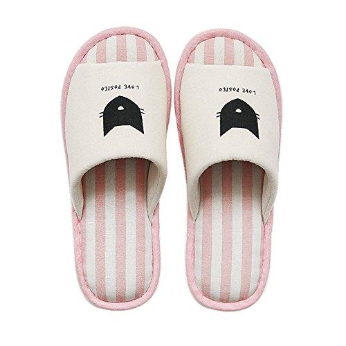 Inverno fankou cotone pantofole ladies home indoor e outdoor giovane pavimento in legno home pacchetto con fondo spesso non - slip scarpe Grau