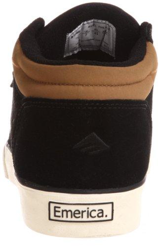 Emerica Hsu 2 Fusion, Chaussures de skate homme Noir/blanc/gomme