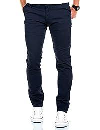 Merish Chino Stretch Slim-Fit Figurbetont Stoffhose Hose Jeans Modell 168