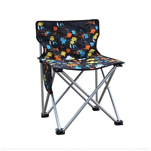 M-JJZX Tragbarer Klappkomfortstuhl Campingstuhl  Gartenstuhl  Hinterhof  Balkon  Veranstaltungsstuhl  Gartenstuhl  Picknick  Strandstuhl (Color : A) - Sling Patio Möbel