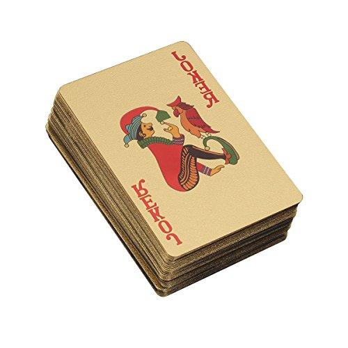 ielkarten Plated Amerika Flagge Deck Pokerkarten Luxus Design für Kartenspiel ()