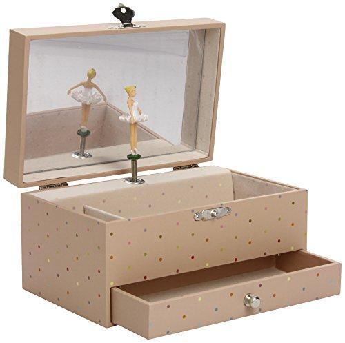 """Trousselier S60606 - Spieluhr XL mit Schublade """"Prinzessin auf der Erbse"""" (Spieldose, Musikdose, Spieluhren, Spieluhr mit Ballerina)"""