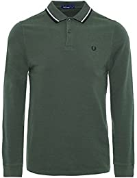 Fred Perry Fp Ls Twin Tipped Shirt, Haut Thermique Homme