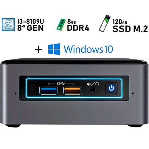Intel NUC i3-8109U + 8GB DDR4 + 120GB M.2 + Windows