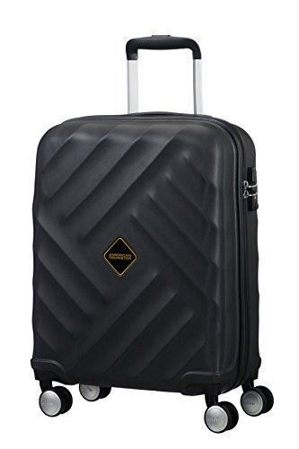 american-tourister-crystal-glow-spinner-55-20-tsa-equipaje-de-mano-33-litros-color-negro