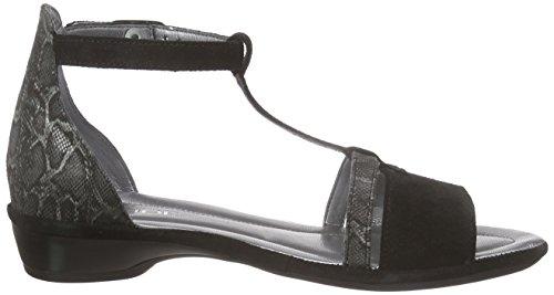 Rohde 5290, Sandales Femme Noir (90 Noir)