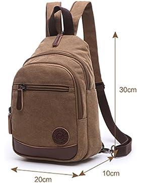Outreo Damen Rucksack Backpack Schultaschen Mädchen Vintage Rucksäcke Klein Freitag Tasche Designer Daypack für...