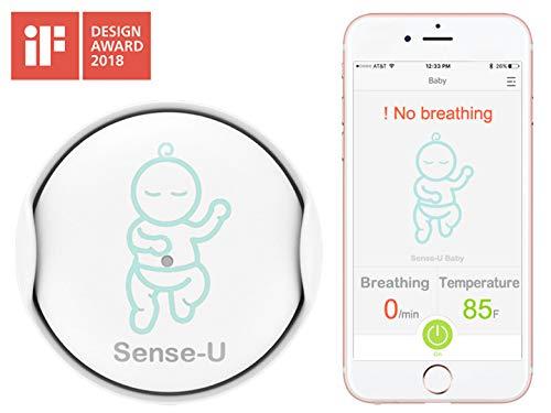 Sense-U Baby Atmung & Rollover Bewegungsmelder Überwachungsgerät: baby atmungsüberwachung, baby...