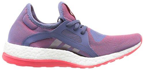 Pureboost Violett Laufschuhe X Plamet Adidas morsup Dunkelviolett Damen Rojimp UXqf5