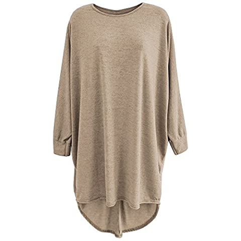 The Home of Fashion - Pull - Femme Beige Taupe