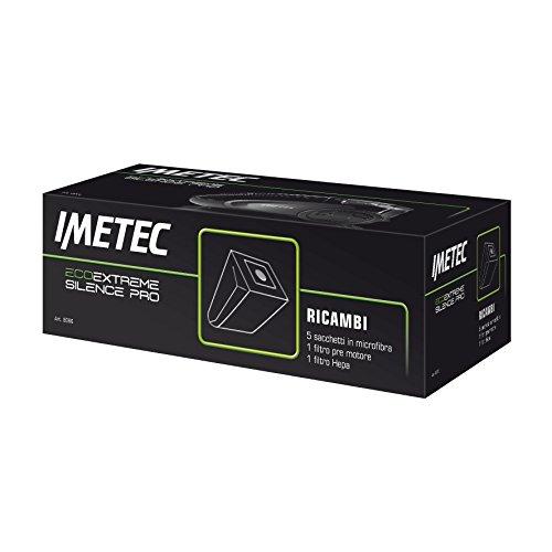 Imetec 8066 Sacchetti e Filtri per Aspirapolvere Silence Eco Extreme