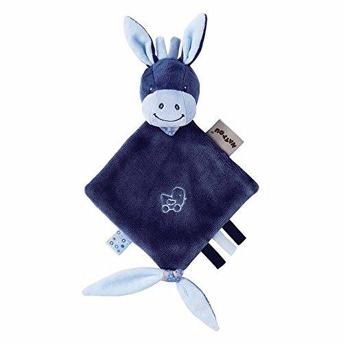 Nattou Mini Doudou, Garçon, 25 x 20 cm, bleu - Alex d'occasion  Livré partout en Belgique