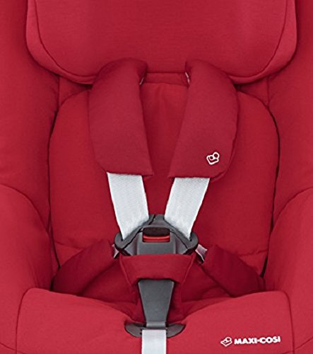 Maxi-Cosi Pearl Car Seat, Vivid Red + FamilyFix Car Seat Base ISOFIX, Black Maxi-Cosi Isofix anchorages provides the safest, easiest and quickest way to install a car seat  Innovative stay open harness stays open to easily get the child in and out in seconds  ISOFIX car seat base suitable for children up to 18 kg (from birth to 4 years) 8