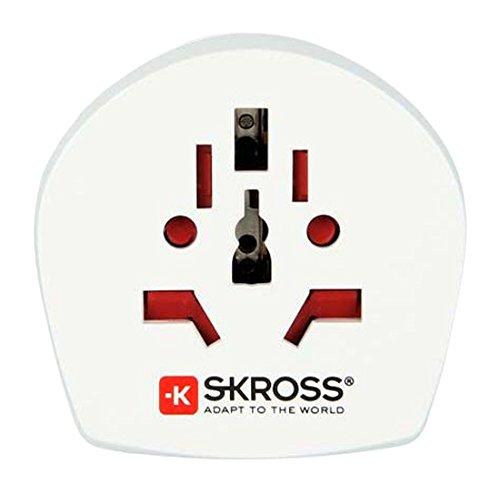 Skross World to UK - Adaptador de viaje,...