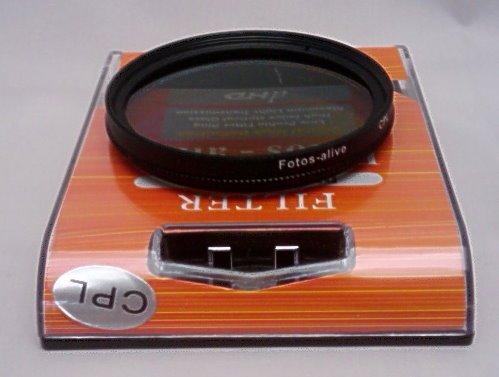 Polfilter 72mm / Zirkular Polfilter für Nikon, Leica, Fuji, Olympus, KodaK, JVC, Sony und alle objektive mit 72mm Gewinde