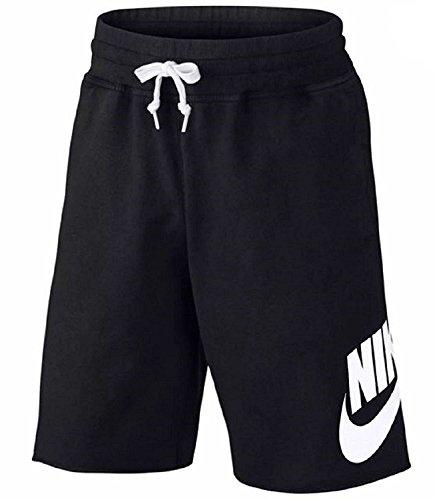 Nike M NSW Ft Gx 1, Pantaloncini Nessun Genere, Grigio Carbone/Bianco, M