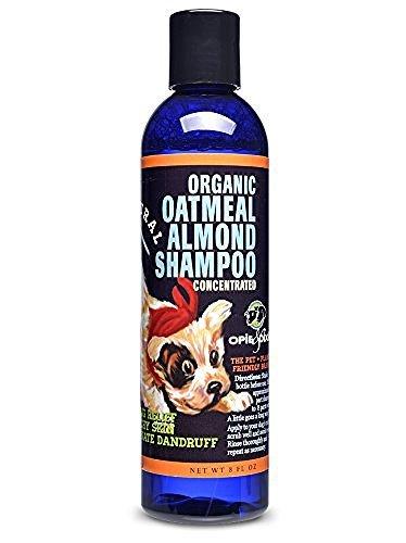 dog-shampoo-extra-rich-oatmeal-almond-organic-shampoo-236-ml-opie-dixie-vegan-with-certified-organic
