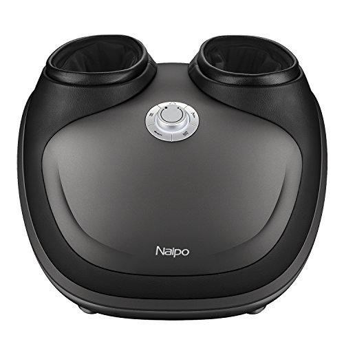 Preisvergleich Produktbild Naipo Fußmassagegerät Shiatsu Elektrisch Fußmassagegerät mit wärmefunktion Fussmassagegeraet Fussmassage Gerät Kneten Klopf Füße mit Luftkompression Wärme Funktion für Zuhause Büro