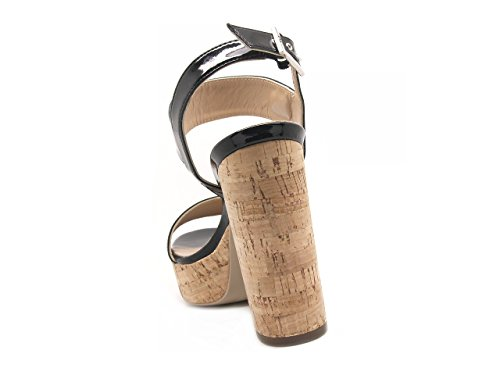 NERO GIARDINI sandali donna Nero