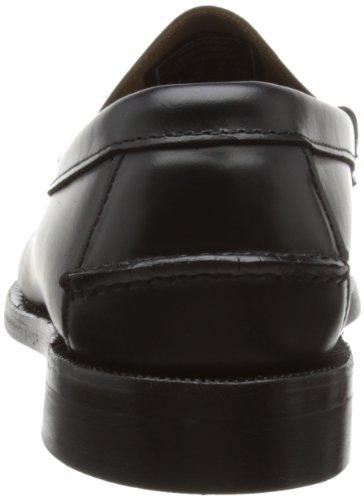 Sebago Classic, Mocassins Homme Noir (BLACK Leather )