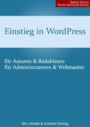 Einstieg in WordPress 3.8