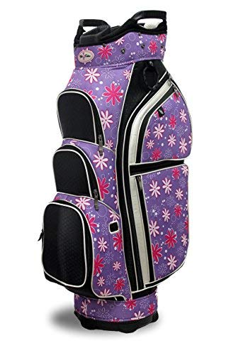 Tabu Fashions Allure Designer Damen Golf Cartbag (4Farben erhältlich), Allure, Petal Pusher -