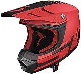 Scott 350 Evo Plus Team MX Enduro Motorrad/Bike Helm rot/schwarz 2019: Größe: M (57-58cm)