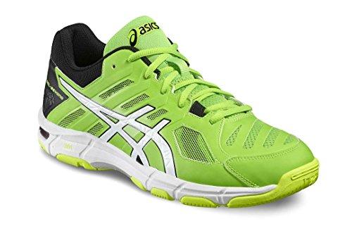Asics Asics Scarpe Volley Uomo - Gel Beyond 5 - B601N-8501 - Green Gecko/White/Safety Yellow-42