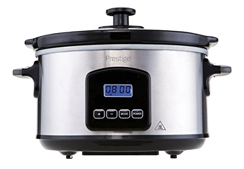 Prestige 5000263468772 PRE-46877 Digital Slow Cooker, 3.5 liters, Black