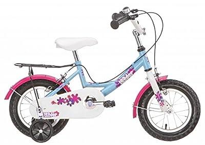 Kid Girl 14-Zoll- 24 cm Mädchen Velge Bremse Blau