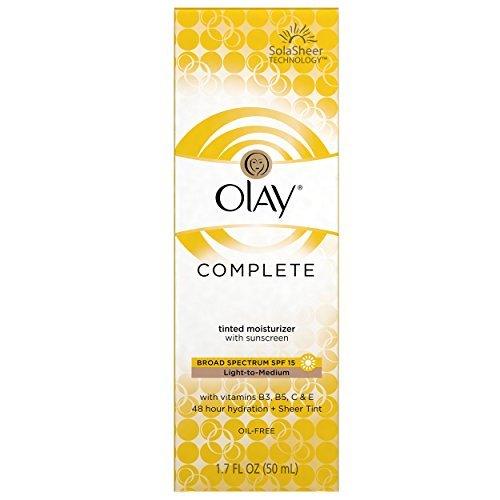 Olay Complete BB Cream Skin Perfecting tinted Moisturizer with Sunscreen, Light to Medium, 1.7 Fluid Ounce by Olay