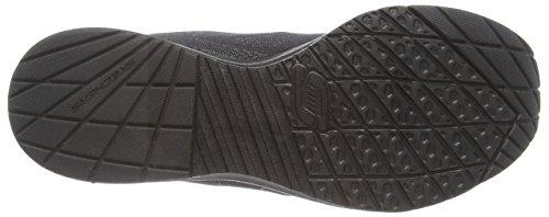 Skechers Skech-air Infinity, Baskets Basses femme Noir - Noir