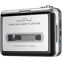 Minidiva Cassette Tape to MP3 CD PC converter converter via USB