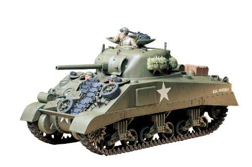 Tamiya 300035190 - 1:35 WWII US Militär Panzer M4 Sherman Fr (3)