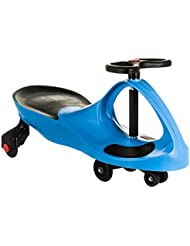 Costello® HQ SWING CAR RIDE ON SWIVEL SCOOTER CHILDRENS ADULT BOY GIRL TOY KIDS WIGGLE GYRO TWIST & GO INDOOR OUTDOOR ☆FAST DELIVERY☆SAME DAY DISPATCH BEFORE 2PM☆UK SELLER☆ (BLUE)