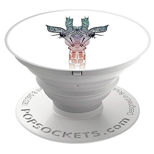 *PopSockets: Ausziehbarer Sockel und Griff für Smartphones und Tablets – Giraffe*
