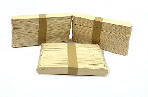 SelectionWorld Art & Craft 15 CM Wooden Ice Cream Sticks (150 Pieces)