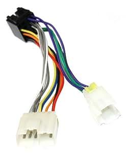 Aerzetix - Adaptateur B5 Convertisseur Câble Fiche Faisceau pour autoradio ISO compatible NISSAN - C1998