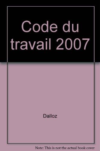 Code du travail 2007