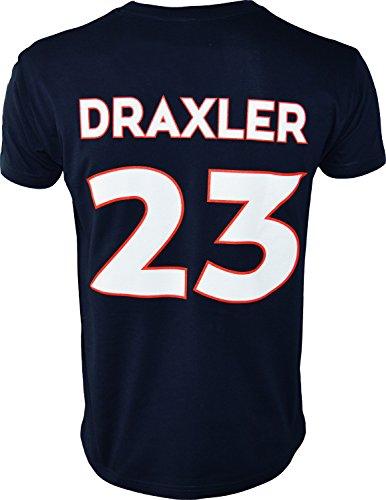 T-Shirt PSG–Julian Draxler–Offizielle Kollektion PARIS SAINT GERMAIN–Kindergröße Jungen 8 Jahre blau (Shirt-kollektion 8)