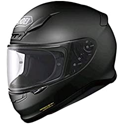 SHOEI NXR MATT BLACK FULL FACE MOTORCYCLE SPORTS HELMET NEW L,4512048407230