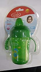 1stbabystore Baby sipper bottle Cup sprout 240ml for 8 months+ Green Color