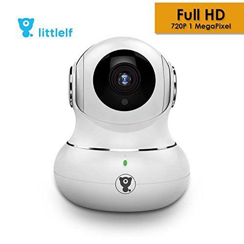 Power Control-center (D3D Littlelf Wireless IP Wifi CCTV [Watch ONLINE DEMO right now] indoor Security Camera (support upto 128 GB SD card) (White Color) Model : LF-P1T)