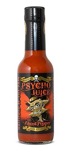 Psycho Juice Hot Chili-Sauce 70% Ghost Pepper - ' Pepper Ghost