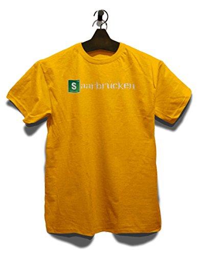 Saarbruecken T-Shirt Gelb