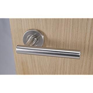 8 X Straight T Bar Door Handle Pack (Internal Latch Set)